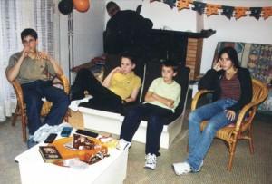 Halloween - Ben, Ferdinand, François & Marie